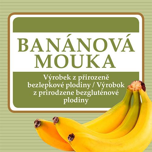 Banánová múka 250g, DMT 18.03.2020