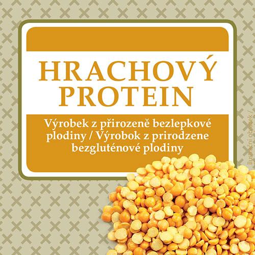 Hrachový protein - AKCE 1+1 zdarma, DMT: 09.10.2019