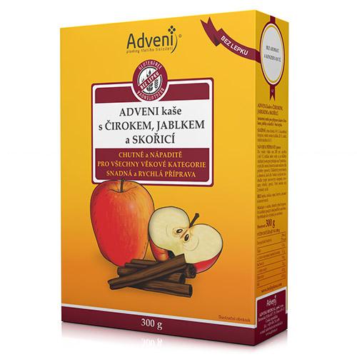 Adveni kaša scirokom, jablkom aškoricou, DMT 21.11.2020