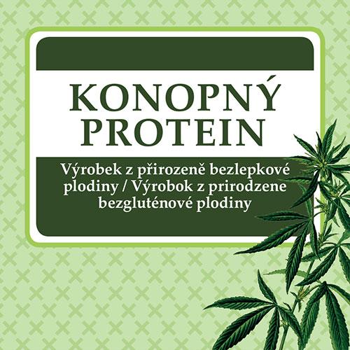 Konopný proteín