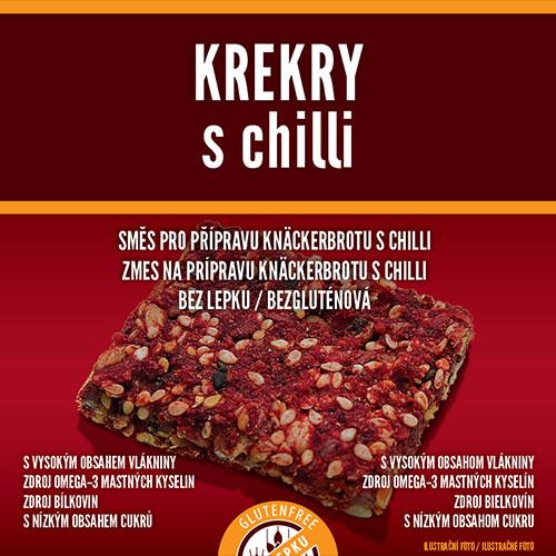 Krekry s chilli