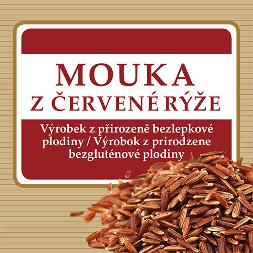 Mouka z červené rýže 250g