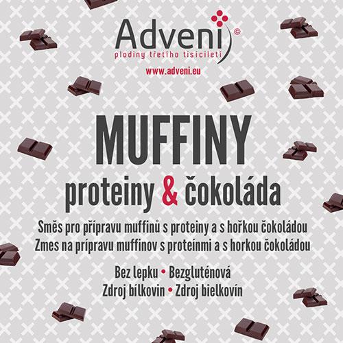 Muffiny proteíny & čokoláda