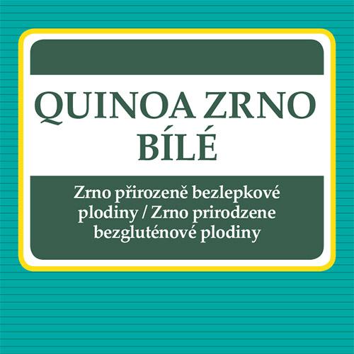 Quinoa zrno biele