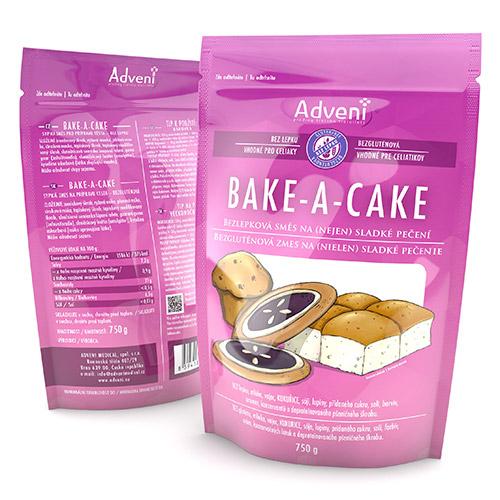 Bezgluténová zmes na pečenie BAKE-A-CAKE
